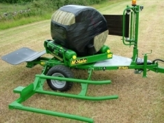 991BJS - Round Bale Wrapper
