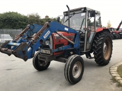 massey ferguson 390 with tanco loader