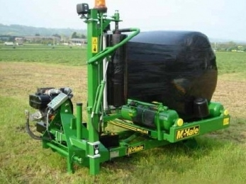 991LBER Round Bale Wrapper