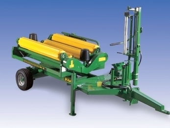995TSR - Square Bale Wrapper