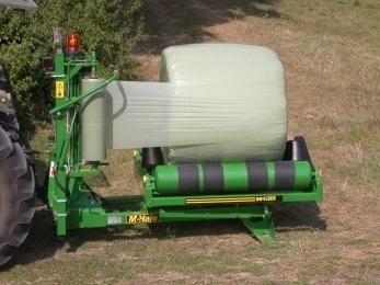 991LB - Round Bale Wrapper