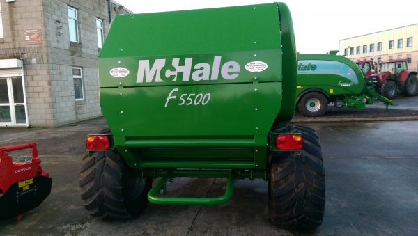 Full range of Mc Hale balers in stock!!